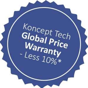 Koncept Tech global price warranty